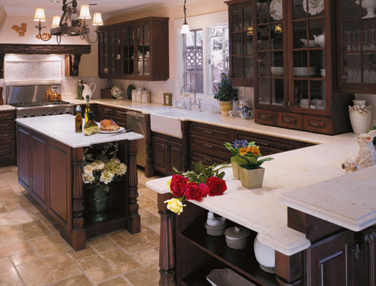 kitchen cabinets - custom built home - RAdisson