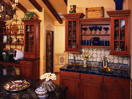 kitchen cabinets - custom built home - cambridge